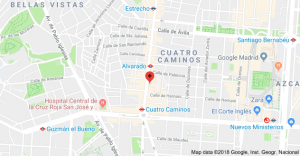 Contacto mapa